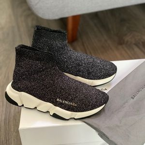 Authentic Balenciaga knitted speed trainers